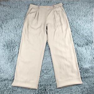 MM LaFleur Tan adjustable length trousers